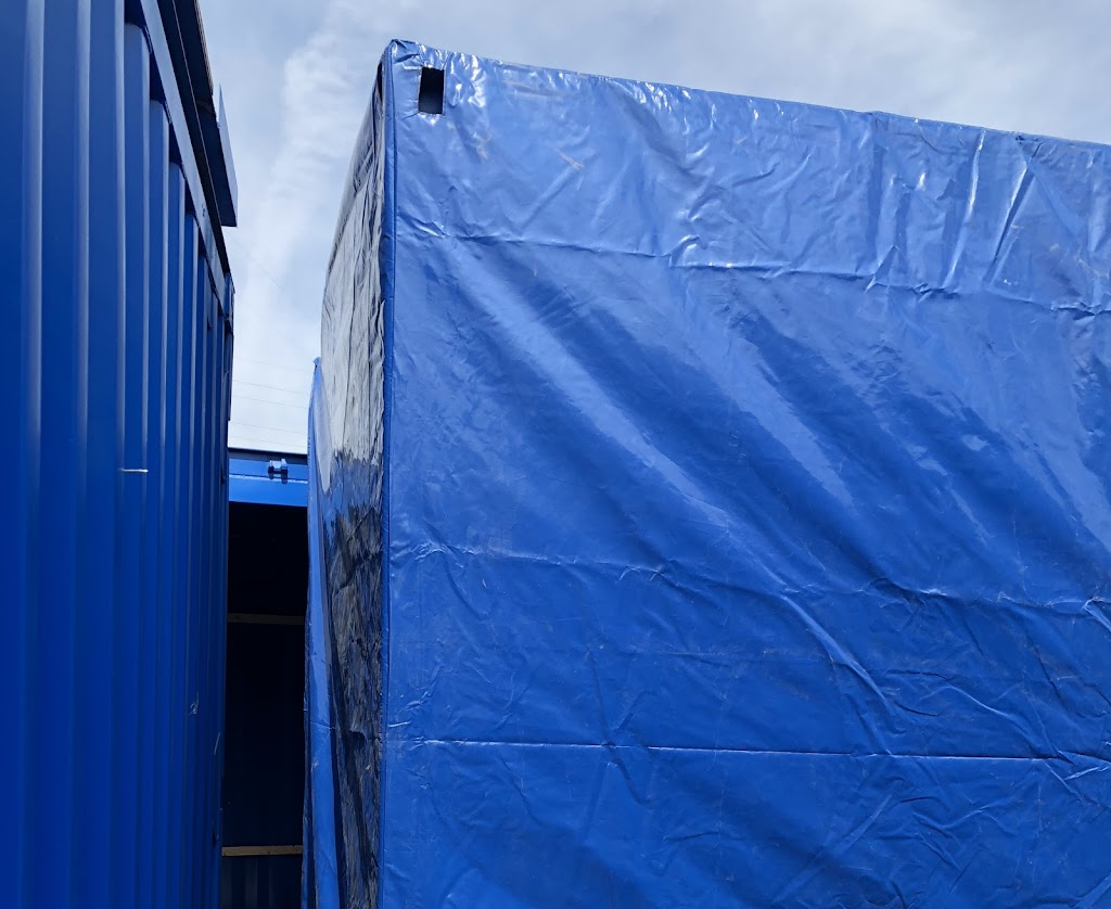 ISO Shipping Container Canvas Covers from CDB Containers