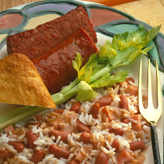Red Beans and Rice with Smoked Sausage.