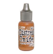 Tim Holtz Distress Oxide Ink Reinker 14ml - Rusty Hinge