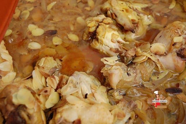 Chicken Tagine with Almonds Recipe