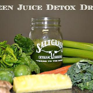 DIY Green Juice Detox Drink