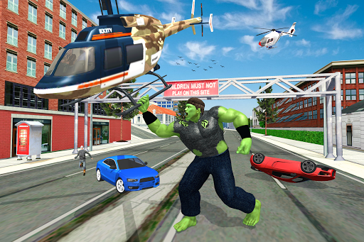 Incredible City Monster Hero Survival apkdebit screenshots 4