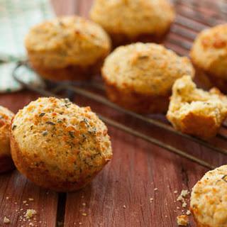 Savory Parmigiano Reggiano Herb Muffins Recipe