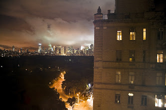 Photo: New York, New York  Round midnight. As the witching hour approaches, lights in the Beresford apartment building, a block from the American Museum of Natural History, begin to dim and fade. Central Park is deserted, and a low fog moves over Manhattan's famed skyscrapers. America sleeps.