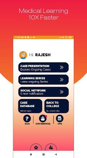 Hidoc Dr. - Medical Learning App for Doctors screenshot 1