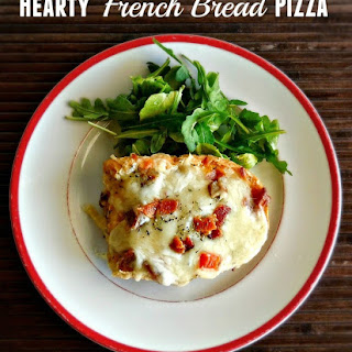 Hearty French Bread Pizza