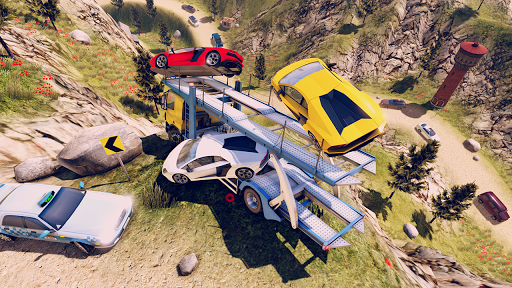 John: Voitures de Transport avec Camion APK MOD screenshots 1