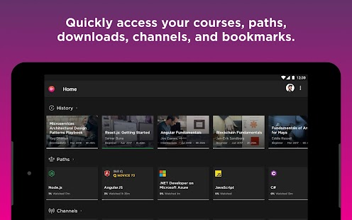 Pluralsight Screenshot
