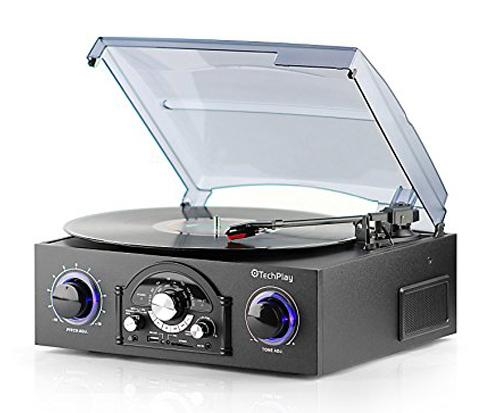 12. TechPlay TCP5 Turntable with pitch control