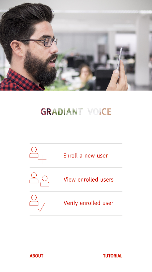 GRADIANT VOICE- screenshot