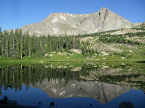 Photo: Mount Alice and Lion Lake Number One.