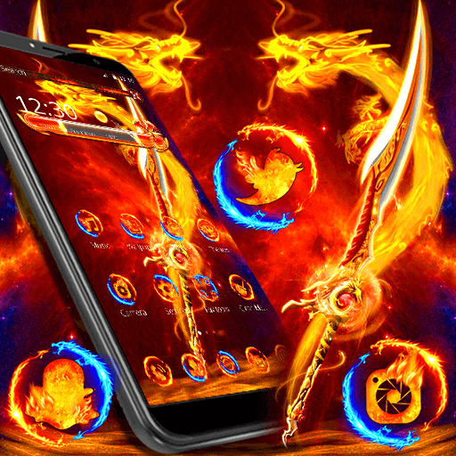 Fire Dragon Wallpaper HD Theme 🔥 - Aplikasi di Google Play