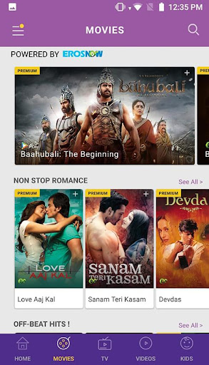 Idea Movies & TV: Movies Online,Live TV,Web Series 3.0.0 screenshots 2