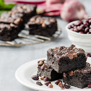 Black Bean and Beet Brownies