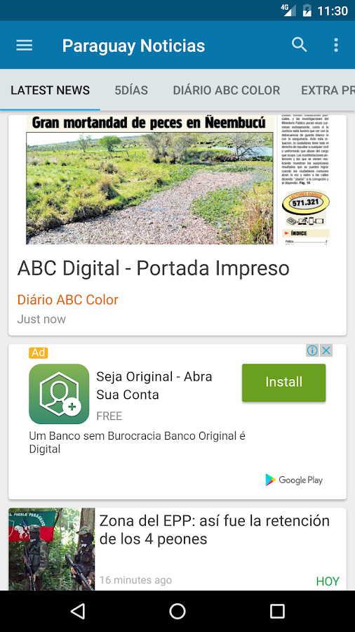 Paraguay noticias android apps on google play for App noticias android