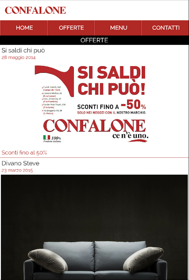 Confalone- screenshot