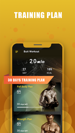 Full Body Exercise-Daily workout Fitness app screenshot 1 for Android
