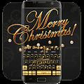 Golden Merry Christmas music keyboard APK
