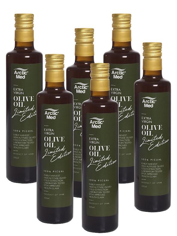 6-pack Extra Virgin Olive Oil