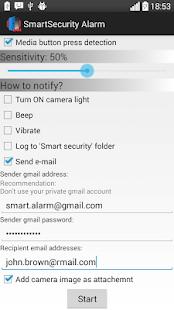 Smart Security Alarm 24H - náhled