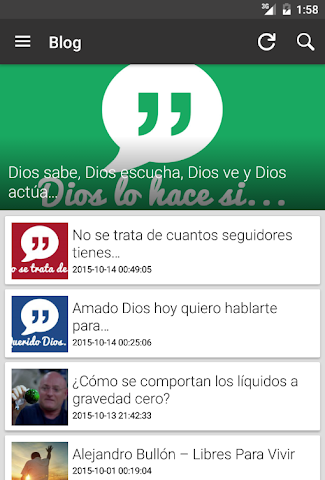 android Ministerio 7Day (App Oficial) Screenshot 13
