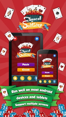 Freecell -Solitaire Card Games Screenshot