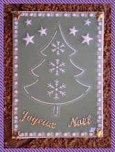 """Photo: """" Joyeux Noël """" envoyée à Marie-Odile ."""