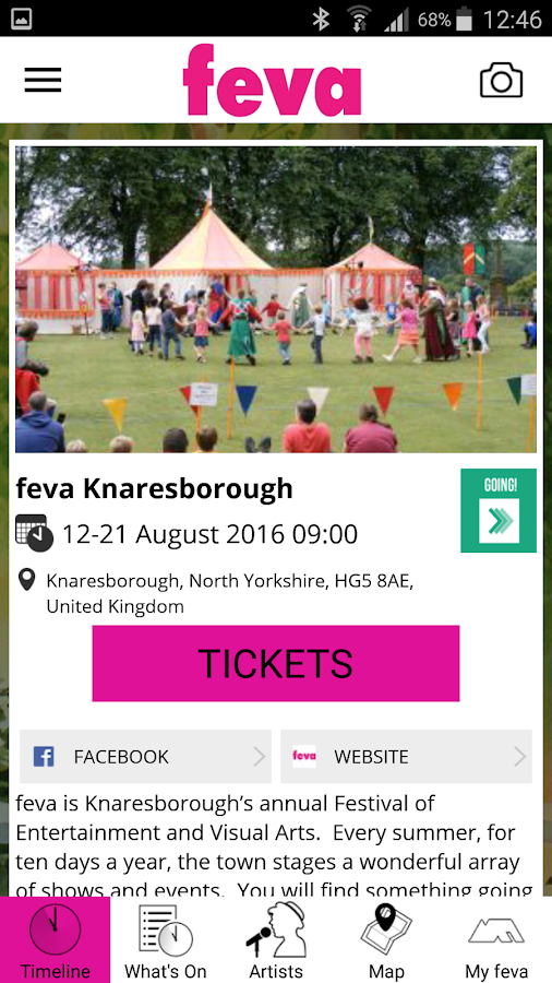 feva Knaresborough- screenshot