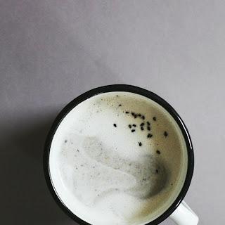 Black Sesame Cappuccino