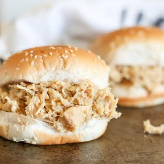 Crockpot Shredded Chicken Sandwiches Recipe