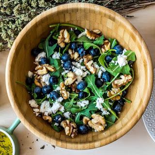 Blueberry Arugula Salad