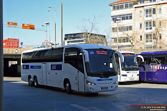 Photo: #49: LJ 34549 ved Oslo bussterminal, 21.04.2009.