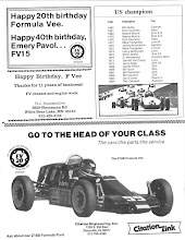 Photo: Formula Vee 20 Anniversary Program Contributed by Jim Schings