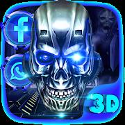 3D Skull HD Theme