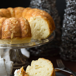 New Years Almond Pound Cake (Good Luck Cake)