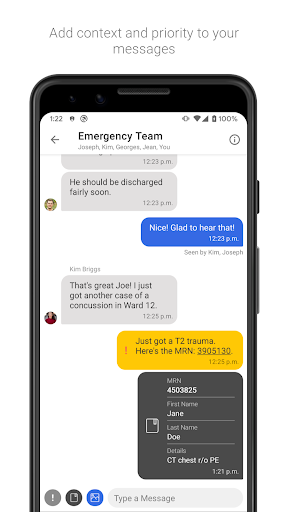 Hypercare - Secure Healthcare Collaboration screenshot 2