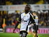 Dylan Mbayo scoorde de 0-2 voor AA Gent