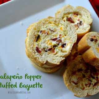 JalapeñO Popper Stuffed Baguette Recipe