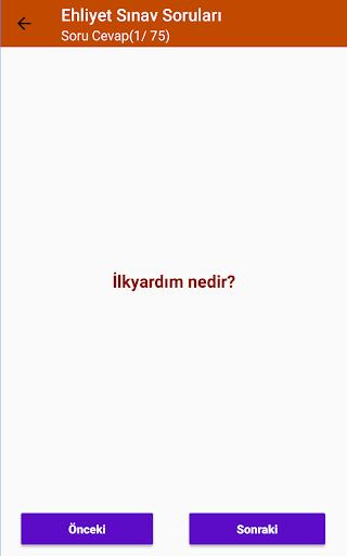 Ehliyet Sinav Sorulari 2020 screenshot 7
