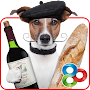 Clever Dog - GO Launcher Theme APK icon