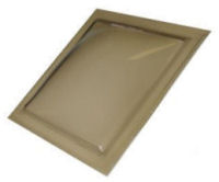 "Sun-Tek® SFMH 14"" x 22"" Tinted Polycarbonate Surface Mount Skylight"