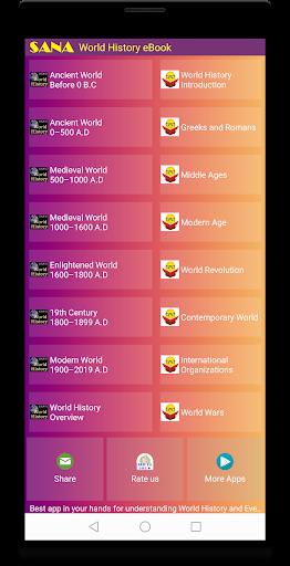World History e-Book 1.46 app download 1