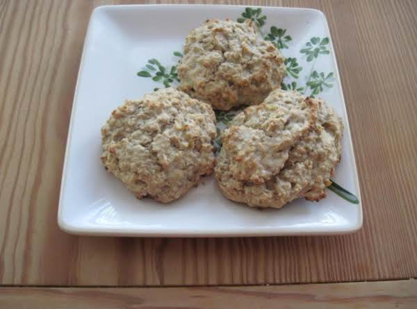 Banana Oatmeal Muffin Tops Recipe