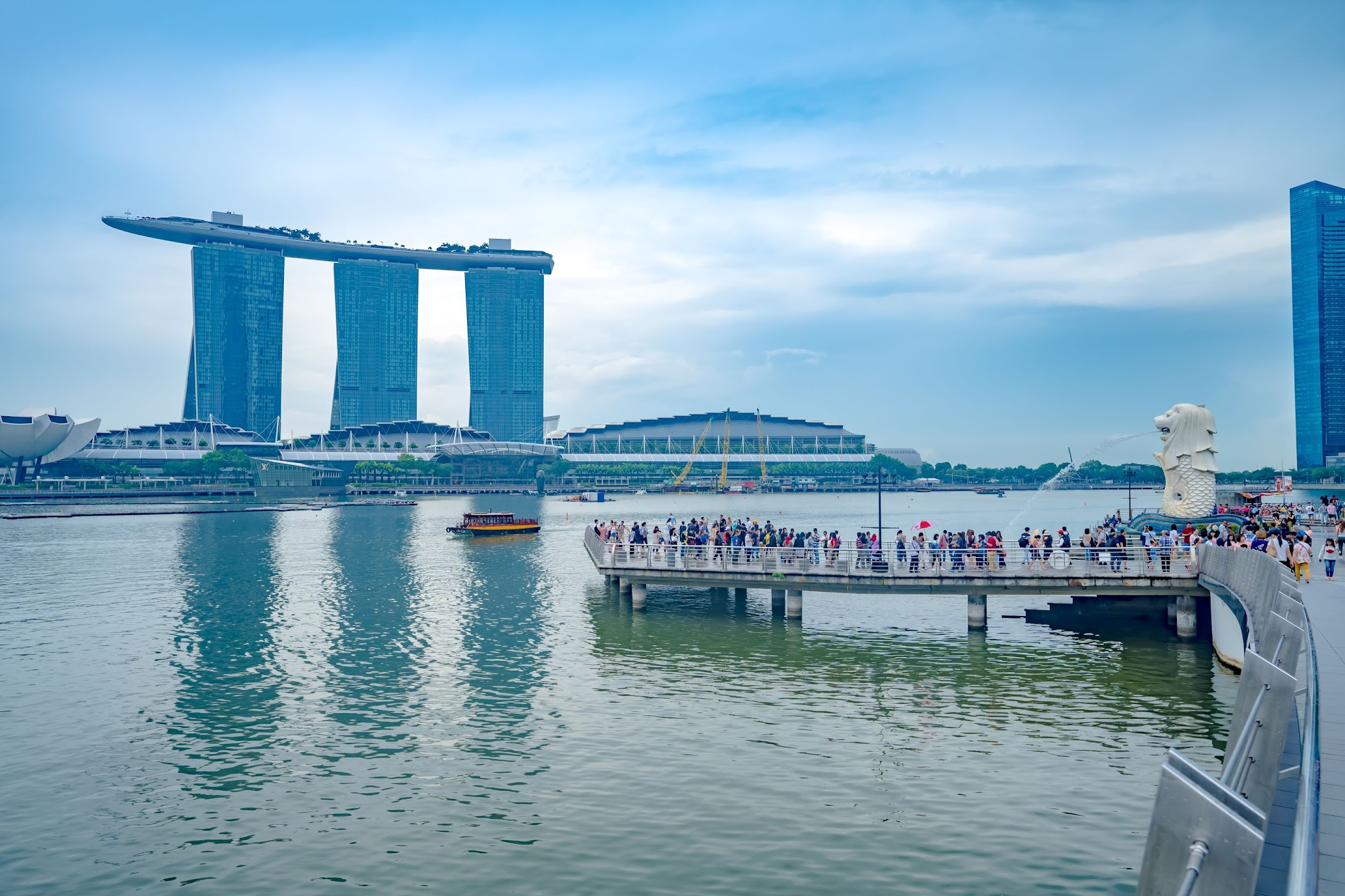 Singapore Merlion Marina Bay Sands1