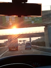 Photo: もう少しで「福岡」です!・・・フロントガラス汚いんですけど。