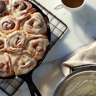 Cinnamon Roll Icing Without Powdered Sugar Recipes.