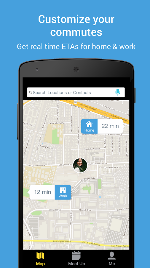 Scout GPS Navigation & Meet Up - screenshot