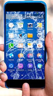 Сломанный экран пранк - náhled