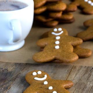 Gluten Free Gingerbread Men Cookies.
