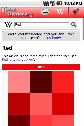 Free Dictionary Org screenshot 3
